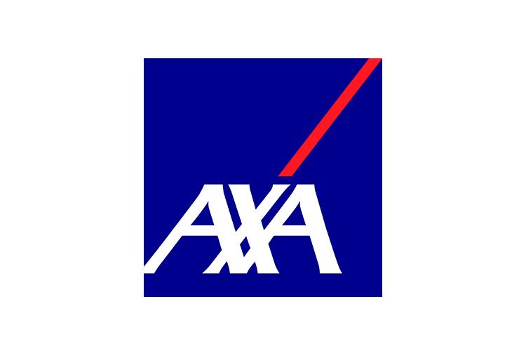 Logo van verzekeringsmaatschappij AXA