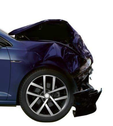 Crash herstellen op auto