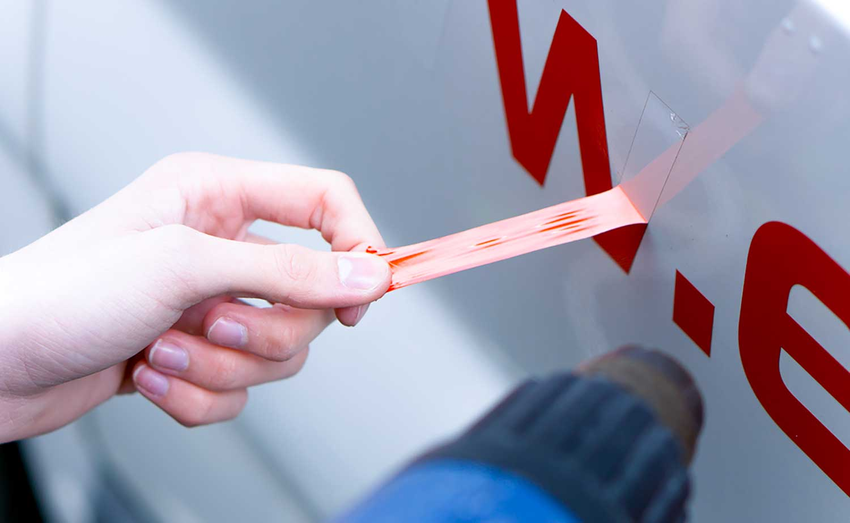 Verwijderen van rode stickers