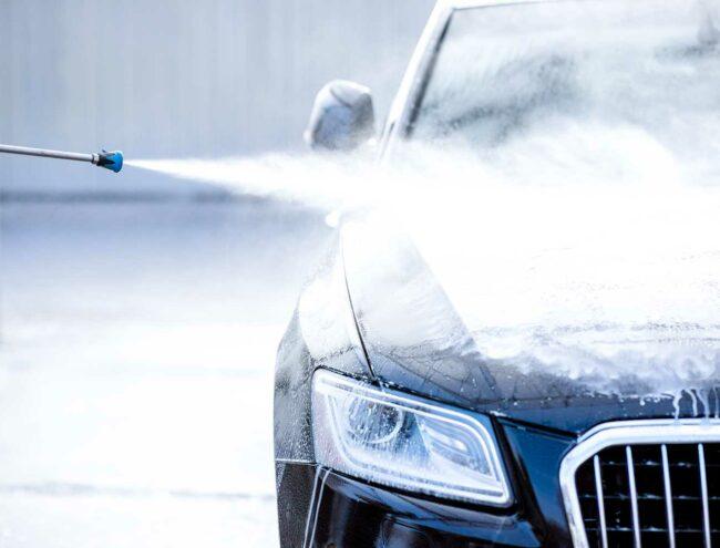 Reiniging van een Audi