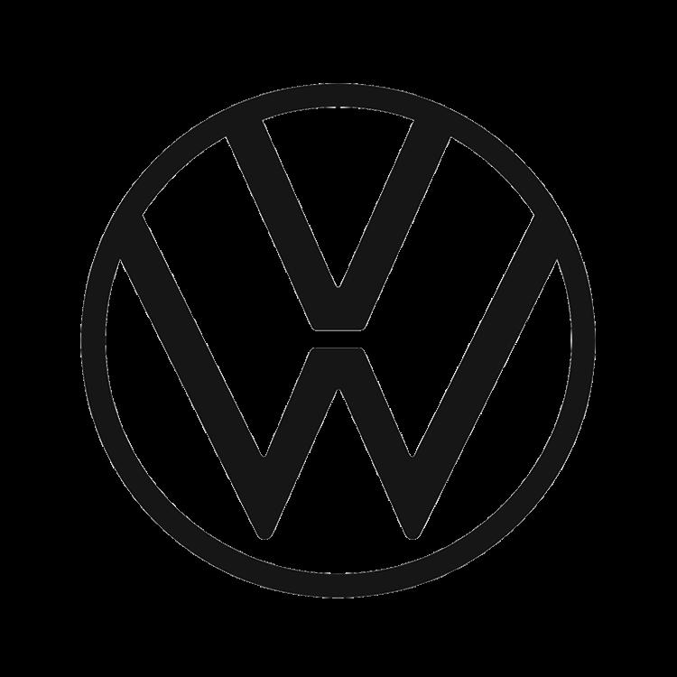 Logo van het automerk Volkswagen