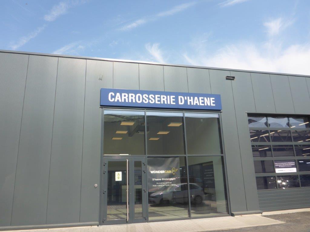 Panneau d'entrée carrosserie Wondercar Ghislenghien D'Haene