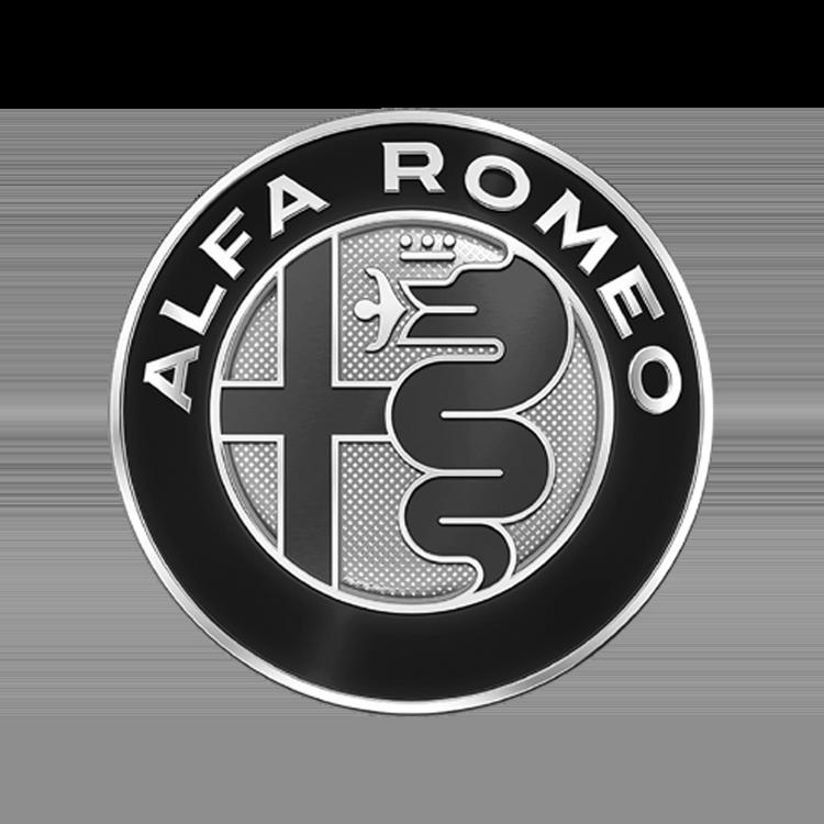 Logo van het automerk Alfa Romeo