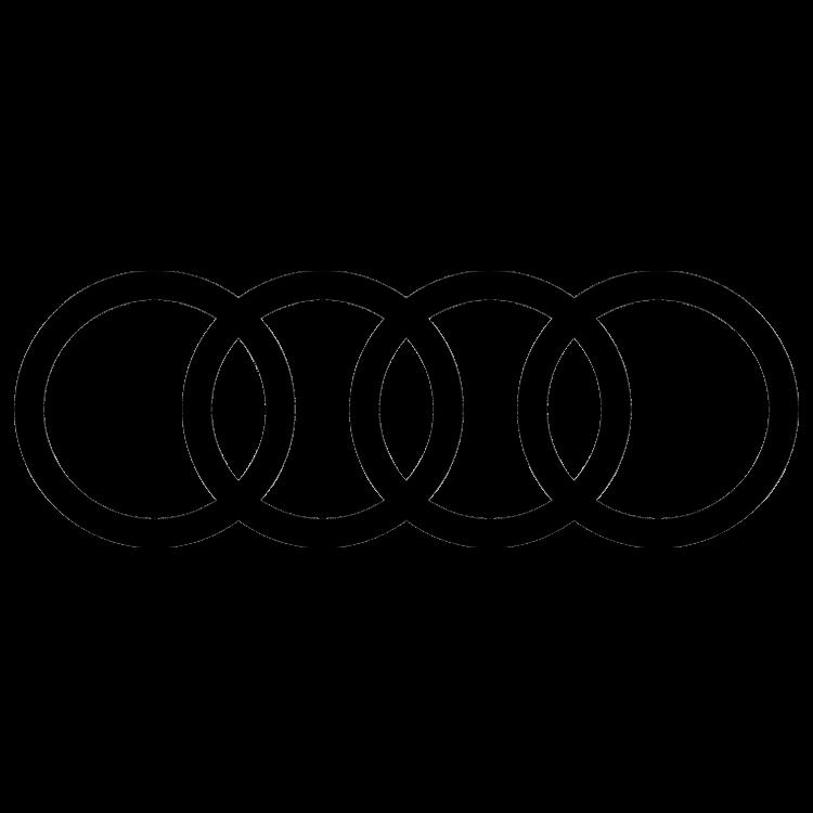 Logo van het automerk Audi