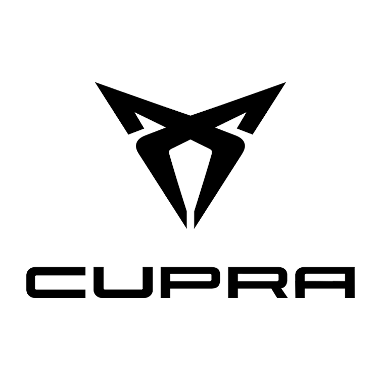 Logo van het automerk Cupra
