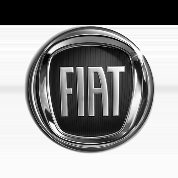Logo van het automerk Fiat