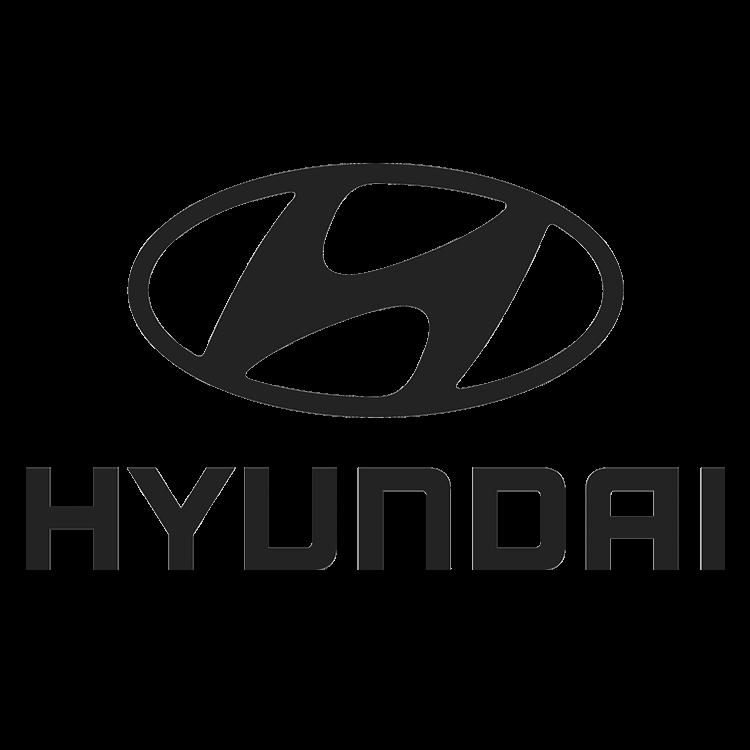 Logo van het automerk Hyundai