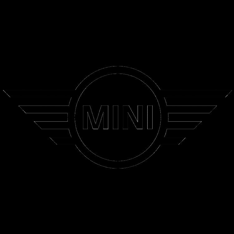 Logo van het automerk Mini