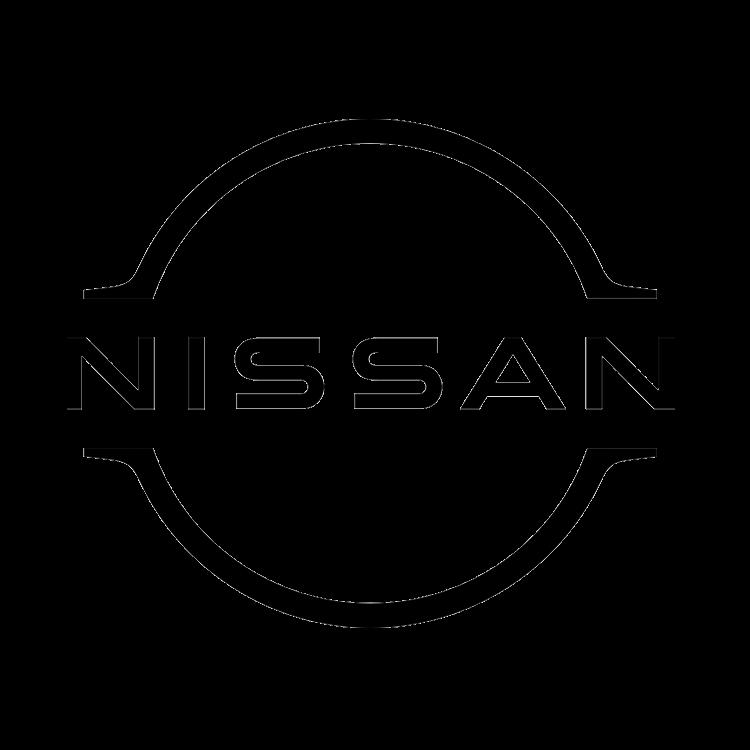 Logo van het automerk Nissan