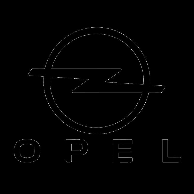 Logo van het automerk Opel