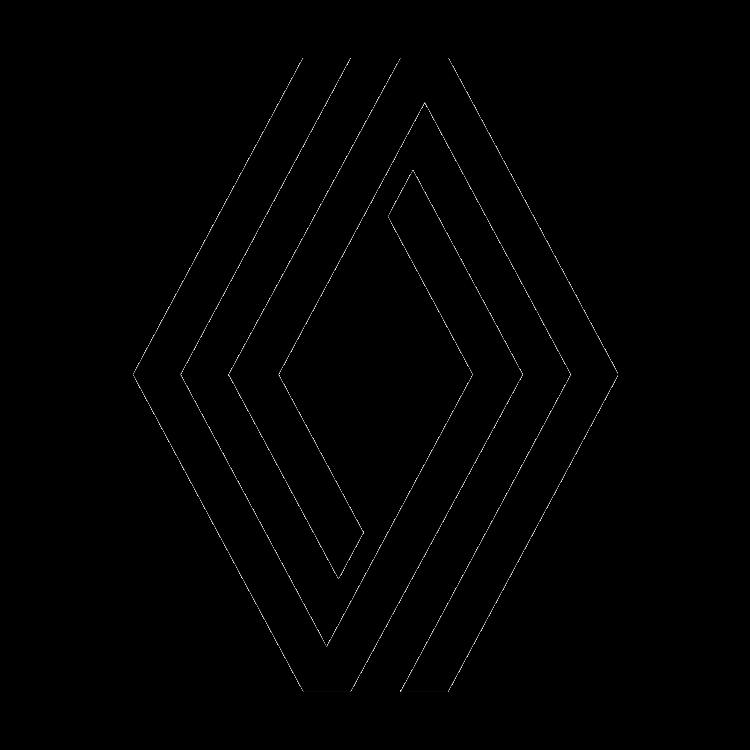 Logo van het automerk Renault