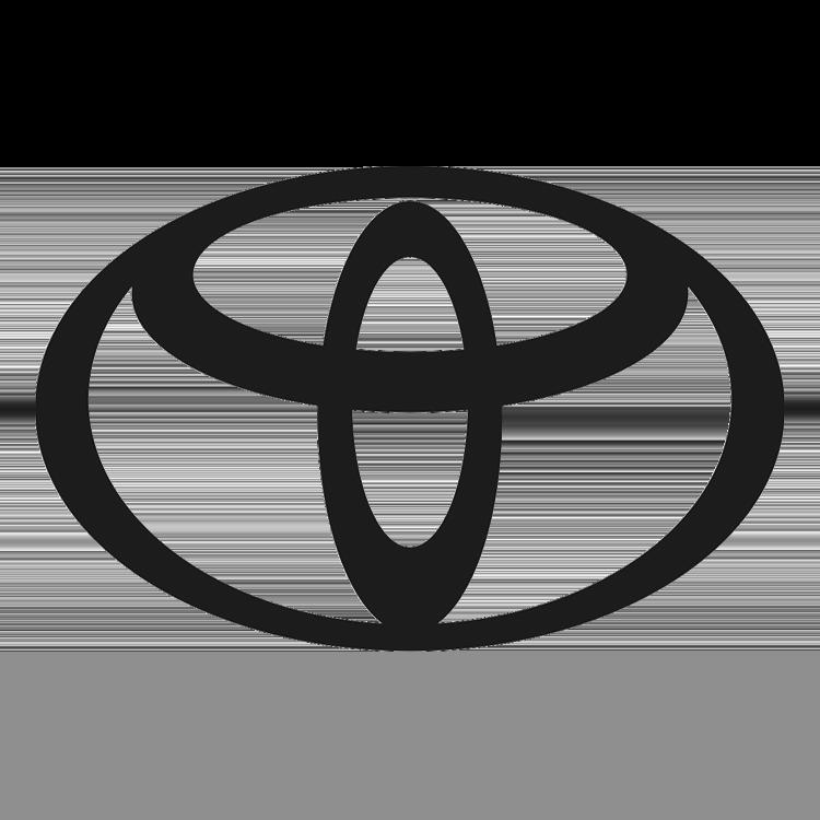 Logo van het automerk Toyota