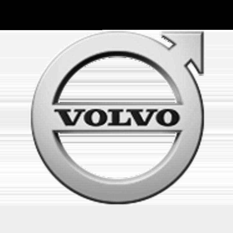Logo van het automerk Volvo